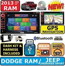 2013 AND UP DODGE RAM GPS NAVIGATION CD/DVD BLUETOOTH CAR STEREO RADIO SYSTEM