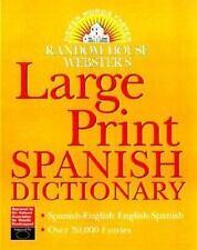 Diccionario Random House Webster's de Español Impresión Grande (para visión subn