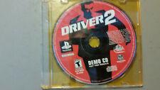 DRIVER 2 DEMO CD  PLAYSTATION 1 PS1