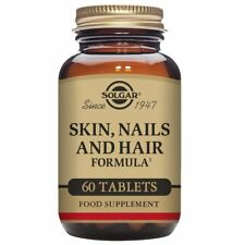 Solgar Skin, Nails and Hair Formula Tablets, Food Supplement 60 Ct FREE DELIVERY