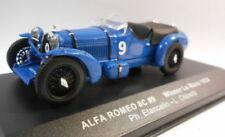 Voitures, camions et fourgons miniatures bleus pour Alfa Romeo 1:43