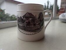 Bandstand In the Gardens, Albury, New South Wales Cup Royal Stafford Bone China.