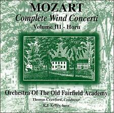 Mozart: Complete Wind Concerti, Vol. III - Horn   Audio CD Buy 3 Get 1 Free