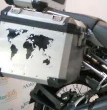 World map alloy Pannier STICKERS Decals GRAPHICS adventure KTM GSA GS ADVENTURE
