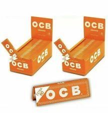 2 pz KIT 3000 CARTINE OCB ORANGE 50 X 60 CORTE ARANCIONI ASTUCCIO BOX LIBRETTI