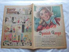 -SPANISH RANGE-THE SUNDAY NOVEL-PATRIOT-NEWS-HBG,PA-APRIL 20,1952