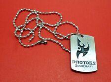 Starcraft Protoss Metal Pendant Necklace Gamer Style