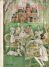 1948 New Yorker July 31 - Family Portrait with the Dalmatian -Tuxedo Park- Petty