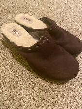 Ugg Clogs Women's Shoes Brown 8 9