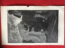 m2o ephemera 1905 book plate she haggard she bent over him and touched him