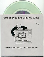 """OUT OF BAND EXPERIENCE Warning: Danger/Succubus 7"""" 1994 Immortal NM +all inserts"""