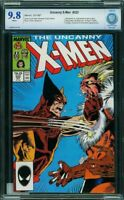 Uncanny X-Men 222 CBCS 9.8 WHITE WOLVERINE v SABRETOOTH 1987 Marauders CGC NM/MT