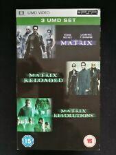 The Matrix Trilogy (UMD/PSP) 3 Disc Boxed Set - MATRIX / RELOADED / REVOLUTIONS