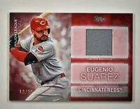 2020 Topps Series 2 Major League Material Relic Red #MLM-ES Eugenio Suarez /25