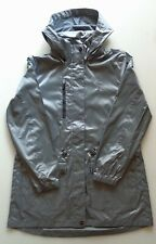RALPH LAUREN POLO GOLF Women's RAIN JACKET COAT Water Repellent Hooded GREY L