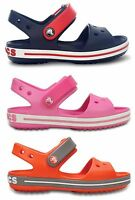 Crocs Kids Crocband Croslite Boys Girls Adjustable Strap Lightweight Sandals