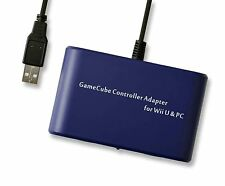 WII U WiiU PC USB DUAL JOYPAD CONTROLLER ADAPTER NINTENDO GAMECUBE UK