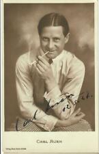 Carl Auen Ross 271/1 signiert, Autogramm