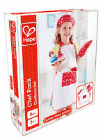 HAPE E3162 Chef Pack Childrens Toddler Toy Wooden Play Food Age 3 Years +