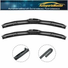 "Hybrid Fit For Audi 200 Quattro 1991-1989 21""+21"" Window Wiper Blades (Set of 2)"