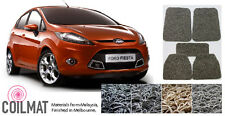 2013-Current Ford Fiesta Hatchback Sedan - Customised PVC Coil Car Floor Mats