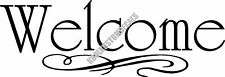 Welcome Interior Home Vinyl Decal HM019
