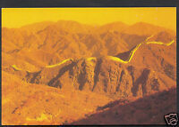 China Postcard - Dawn Over The Great Wall   WC325