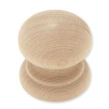 """P10520C-BIR  Birch Wood 1 3/4"""" Large Round Cabinet Drawer Knob"""