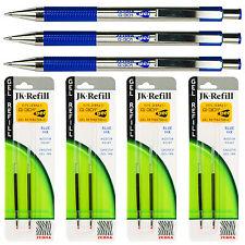 Zebra G-301 Gel Pens With Refills, Blue Gel Ink, 0.7mm Medium Point, 7-Piece Set