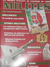 MILITES 25 2007 PNF RSI MVSN DISTINTIVI ADRIAN CC COLONNA LITTA FREGI DISTINTIVI