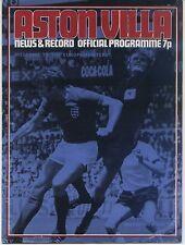 23.01.1973 Aston Villa - FC Bayern München