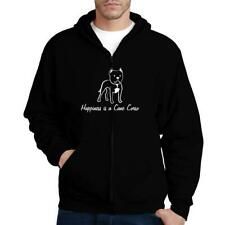 Happiness is a Cane Corso Zip Hoodie