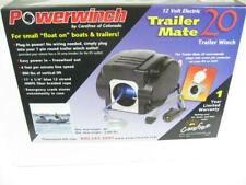 Powerwinch TrailerMate 20 Boat Winch 30A 12v 7-Pin Plug 800lb NEW Trailer Mate
