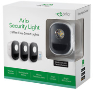🔥 New! Arlo Wireless Security Lights with RGB and Motion Alerts - 3 Pack