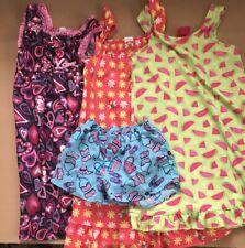 Mixed Lot Of 4 Girls 7/8 Sleepwear. Pre-owned