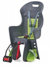 Polisport Boodie Grau Grün Fahrrad Kindersitz Rahmenhalterung Kinder Fahrradsitz