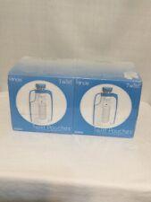 (2) Kiinde Breast Milk Storage Twist Pouches 80 Total New Sealed
