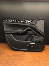 2012 Porsche Cayenne S Front Left Driver Side Door Panel Trim 7P5867011C OEM