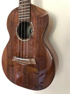 FLIGHT MUSTANG ALL SOLID ACACIA TENOR UKULELE WITH PICKUP