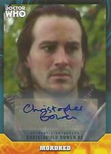 "Doctor Who Signature Series - Christopher Bowen ""Mordred"" Autograph Card"