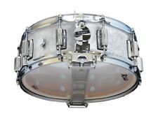 Rogers Dyna-sonic 14x5 Wood Shell Snare Drum White Marine Pearl w/Beavertail Lug