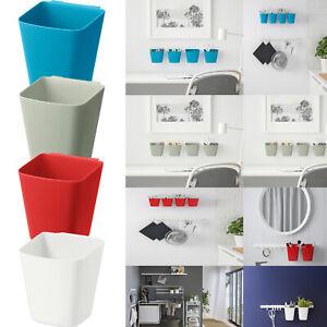 Ikea SUNNERSTA Home Kitchen Bathroom Office Office Storage Containers Rail Hooks