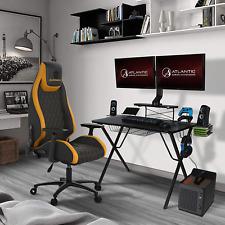 Atlantic Gaming Original Gaming Desk Pro Curved Front 10 Games Controller