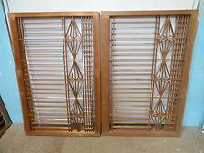 Vintage Japanese Shoji Sliding Door Window Panels CONTEMPORARY 2 Sections #51