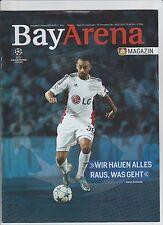 Orig.PRG  Champions League  2015/16   BAYER 04 LEVERKUSEN - FC BARCELONA  !!