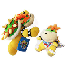 Super Mario Brothers King Bowser Koopa Jr. Stuffed Plush Doll Toy US Ship