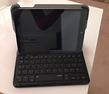 Bluetooth Wireless Apple iPad Mini Keyboard Case Tastatur Schwarz Grau Qwertz