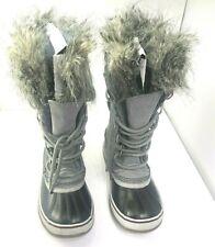 SOREL Women's Joan of Artic Waterproof Boot Quarry - Black Size 6
