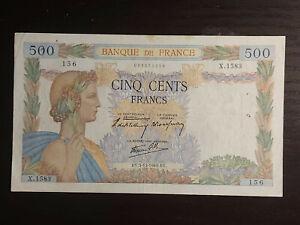 France 500 Francs 1940, P-95