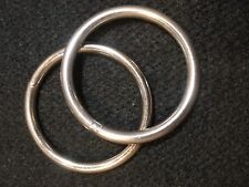 "O Ring - 2 1/2"" - Stainless Steel- Set of 4 (F274)"